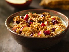 Cranberry-Apple Gran-Oatmeal Recipe (Betty Crocker Recipes) Tags: hot apple fruit breakfast recipe milk cereal spoon fresh oatmeal cranberry honey granola crunch crunchy bettycrocker cran generalmills naturevalley granolabar breakfastrecipe oatmealrecipe cranberryapplegranoatmealrecipe