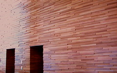 The Wall (Marcia Portess) Tags: wood abstract wall architecture pared design madera doors interior thewall mundanedetails puertas marciaportess