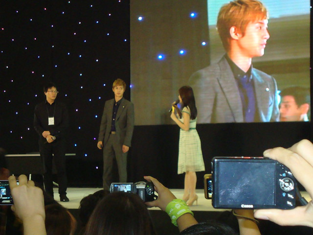 Kim Hyun Joong at Trinoma