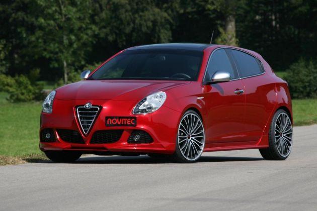 NOVITEC Refines the Alfa Romeo