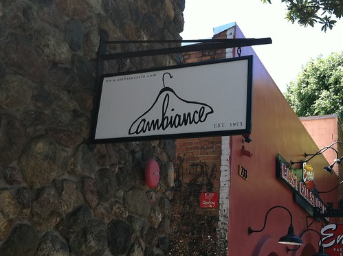 Ambiance sign