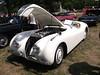 1952 Jaguar XK120 OTS (Open Two Seater) (cjp02) Tags: show classic car vintage indiana days british motor zionsville fujipix av200 cjp02 1952jaguarxk120otsopentwoseaterindy
