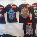 Merch stand at Skogsröjet 2011