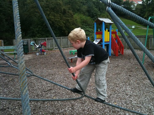 Mountaineering on the Climbing Frame