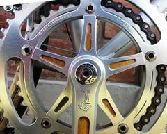 Campagnolo GS Crankset (coventryeagle48) Tags: 3 sport vintage corsa epoca ttt olmo campagnolo cinelli 3ttt velital