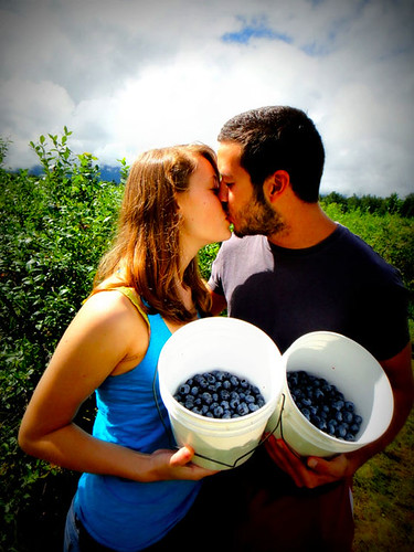 Fresh Blueberry Kiss