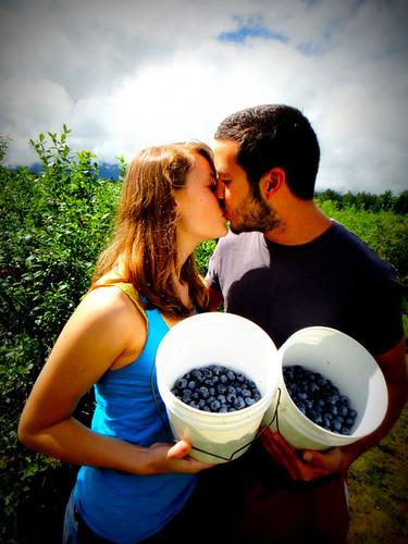 Fresh Blueberry Kiss