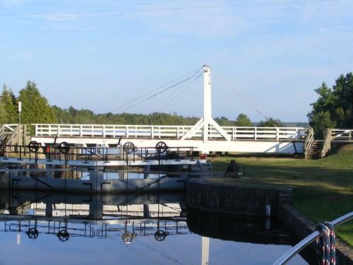 Kilmarnock swing bridge