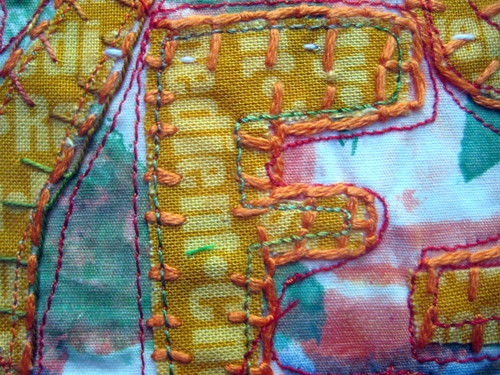 prayer flag 15 detail