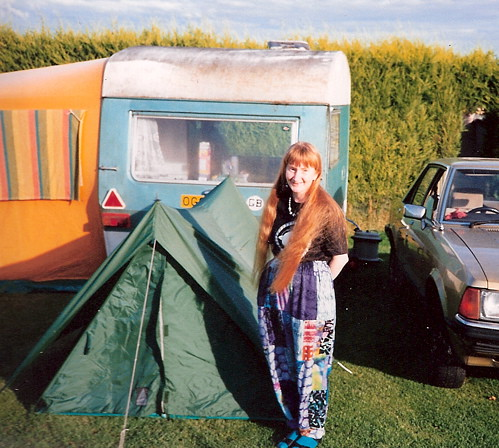 Me on the campsite
