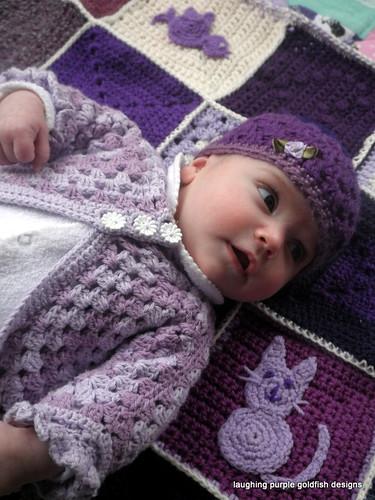 purple baby