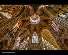 Gothic Star - Ely Cathedral (Editor's Pick on hdrspotting.com) (Marc Haegeman Photography) Tags: uk england ely hdr gothiccathedrals