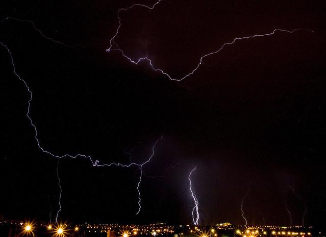 Tormenta sobre Alicante. 29/08/11