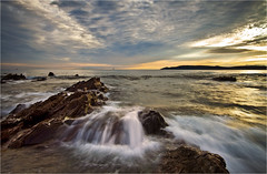 Cascading Force (Twogiantscoops) Tags: sea seascape water cascade