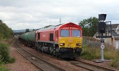 66101 6S36 Dalston - Grangemouth 31-08-2011 (alasdair37114) Tags: oil bp tanks dbs class66 camelon 66101 dbschenker 6s36