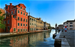 Last Minutes of Stillness (a.Kry) Tags: 7d akry canoneof7d italy venice building buildings canondslr canoneos city countries italia morning pano panorama panoramicview urban author            akryphotoart