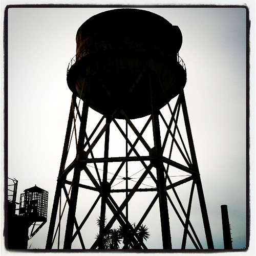 Water Tower Alcatraz by benjaminrickard