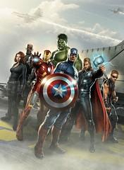 110902(1) - 2012年科幻電影《The Avengers 復仇者聯盟》即將殺青,官方特地公開4幅最新宣傳插圖! (3/4)