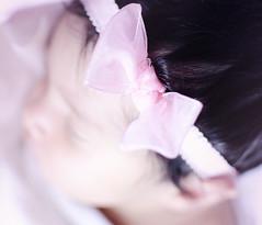 (Ebtesam.) Tags: morning pink baby white girl hair photography photos eid band babygirl newborn saudi arabia jeddah saudiarabia hairband ابتسام ebtesam