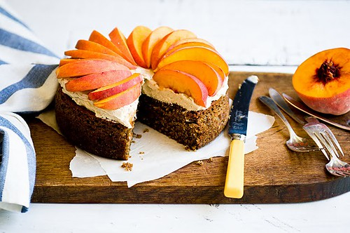 5 Stephsus-Peach and Ginger Pecan Cake Idea Fall Knife