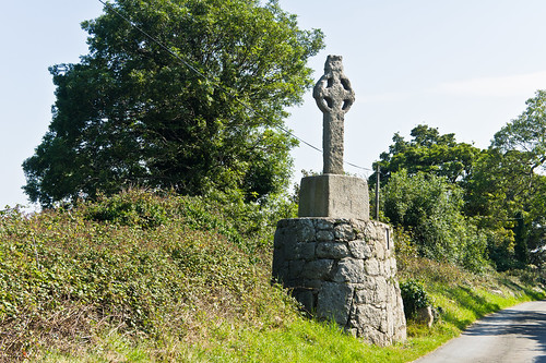 Ancient Cross Near Tully Church