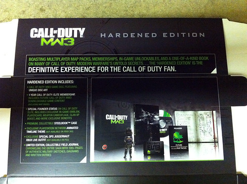 Modern Warfare 3 Hardened Edition Leaked By Advertisement Banner
