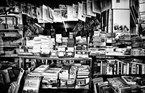 black and white and read all over