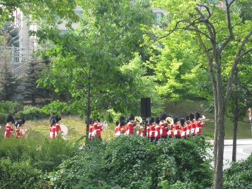 Ceremonial Guard in Confederation Park