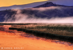 Sunrise at Flat Creek (James Neeley) Tags: sunrise landscape wyoming grandtetons tetons hdr jacksonhole gtnp flatcreek 5xp jamesneeley