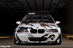 Arctic-Camo e46 BMW M3 (jeremycliff) Tags: winter sunset cliff brown white snow chicago black cold lens grey illinois european euro fast jeremy stretch camo arctic flare bmw flush custom m3 loud slammed e46 bmwm3 hellaflush jeremycliff stancenation stancenationcom jeremycliffcom arcticcamom3 camom3