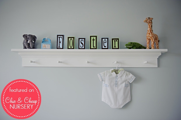 Wall Art in Classic Powder Blue Boy Nursery