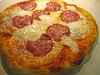 Pizza After with Provolone and Salami