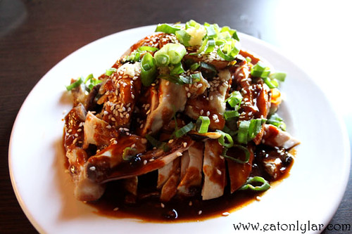 Sichuan spicy sliced chicken, Jacky's Kitchen