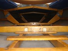 Spanteund Bodenleiter im Faltboot (Pouch RZ 85)