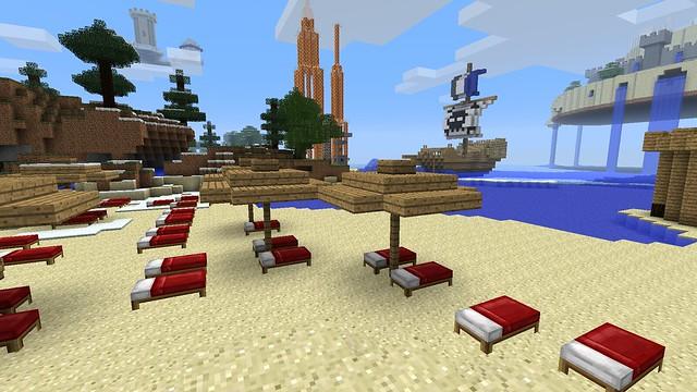 La plage du lagon
