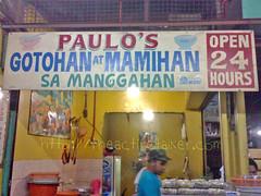 Paulo's Gotohan at Mamihan sa Manggahan