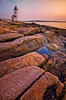 Sunset at Annisquam Light (chris lazzery) Tags: sunset lighthouse massachusetts annisquam canonef1740mmf4l glucester singhraygoldnblue 5dmarkii bw30nd