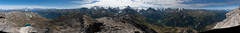 360° view on the Sasseneire - 3253m Photo