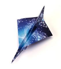 Origami création - Didier Boursin - Avion Mig-1