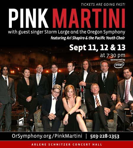 Pink Martini @ Oregon Symphony
