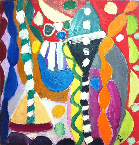 Gillian Ayres 16 x 16in Cromanty-lg
