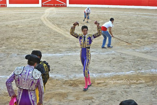 Novillada Mixta Feria Melilla 2011- Sergio Flores