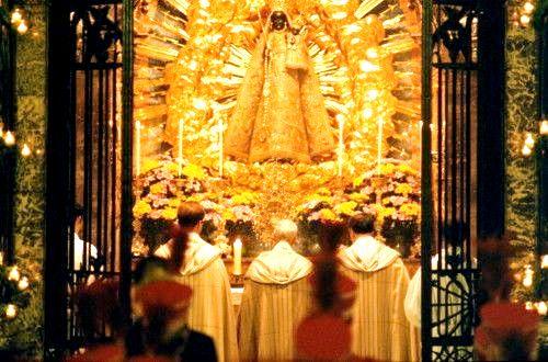 Imagen de Nuestra Señora en la Capilla de Gracia