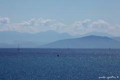 blue diamonds (paolo agostini) Tags: sea boats greek boat barca mare hellas barche grecia ionio corf krkyra grandemaregroup