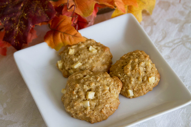 Oatmeal Apple Cake Cookies from Sugar Crafter
