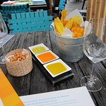 "Chips and Dipping Sauces at La Mar <a style=""margin-left:10px; font-size:0.8em;"" href=""http://www.flickr.com/photos/14315427@N00/6121083521/"" target=""_blank"">@flickr</a>"