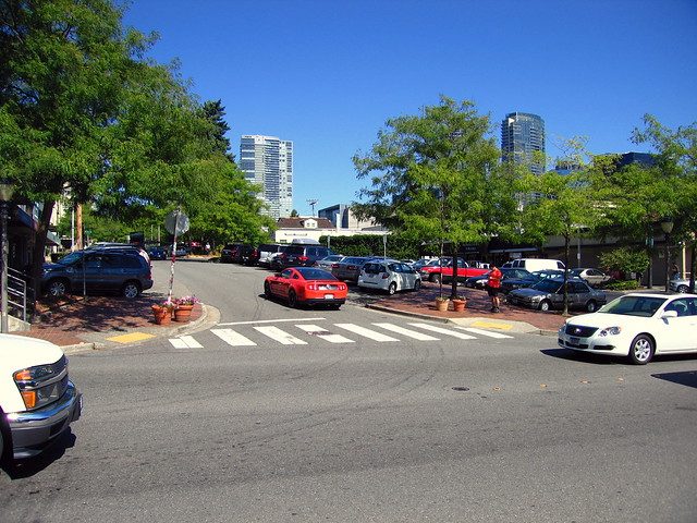 103rd Avenue NE and Main Street - Bellevue WA