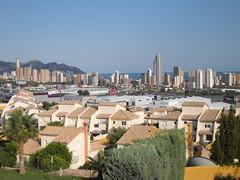 Fabulosas vistas a toda la bahia de Benidorm. Solicite más información a su inmobiliaria de confianza en Benidorm  www.inmobiliariabenidorm.com