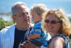 John, Everett, And Sue (Joe Shlabotnik) Tags: beach notmine maine takenbyme sue everett johnm faved 2011 higginsbeach frompatty july2011