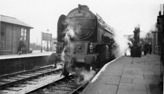Grantham A1 60119 Patrick Stirling up ex pass early 1950s (DavidWF2009) Tags: a1 grantham 60119 patrickstiring
